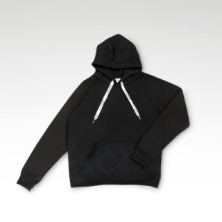 COFFEE & SURFING ORIGINAL AIRY TECH HOODIE [BLACK]