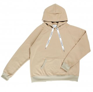 COFFEE & SURFING ORIGINAL AIRY TECH HOODIE [LATTE BROWN]