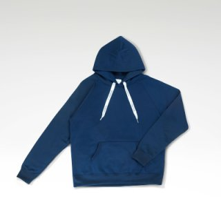 COFFEE & SURFING ORIGINAL AIRY TECH HOODIE [NAVY]