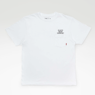 TRSC × BLUCO HEAVY WEIGHT POCKET T [WHITE]