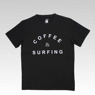 COFFEE & SURFING TEE [BLACK]
