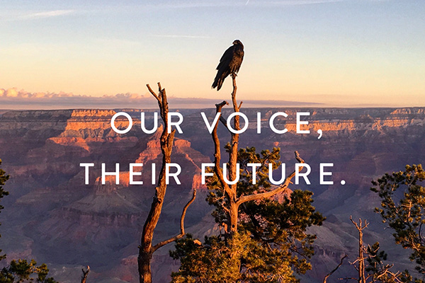 Ourvoice,theirfuture.