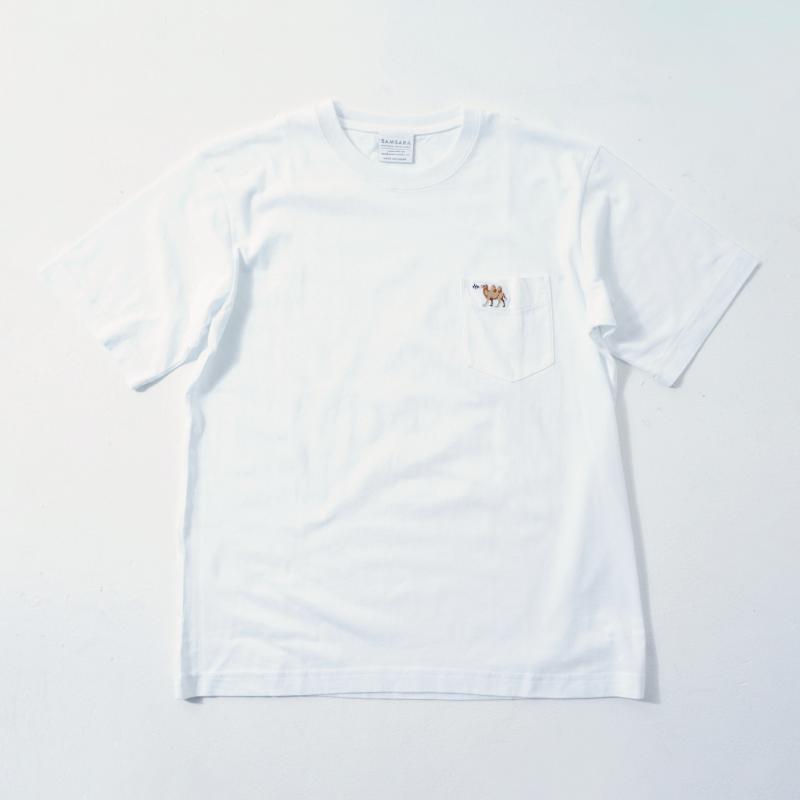 UNISEX Short Sleeve T White  (5Animals)