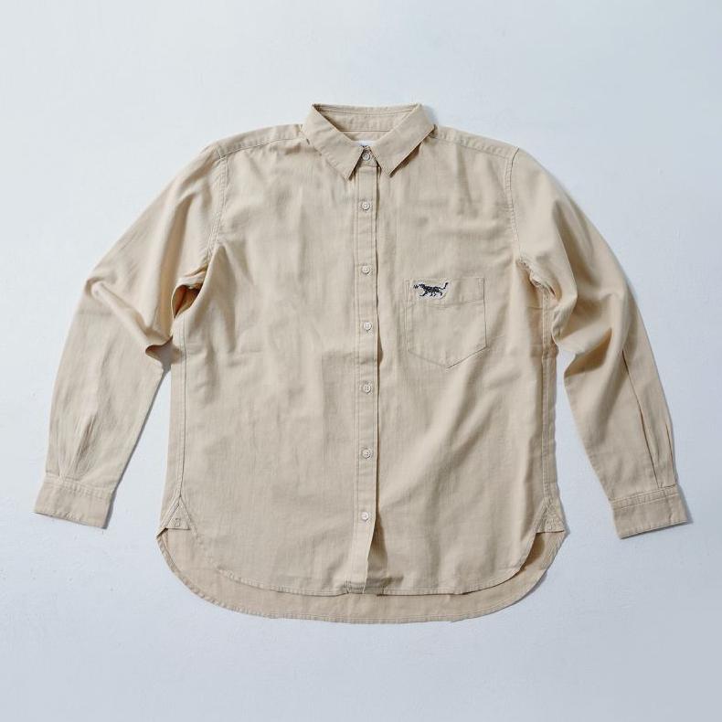 LADIES Shirt Beige  (5Animals)