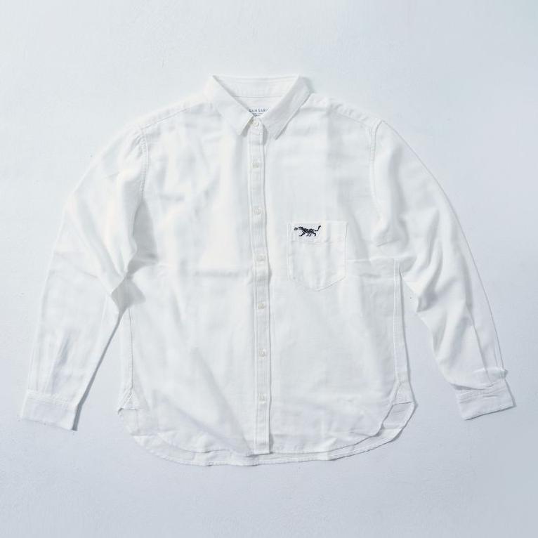LADIES Shirt White  (5Animals)
