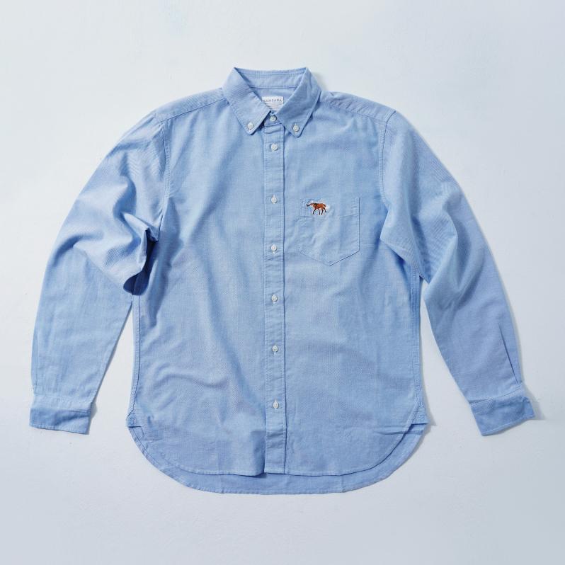 MENS Shirt Blue  (5Animals)