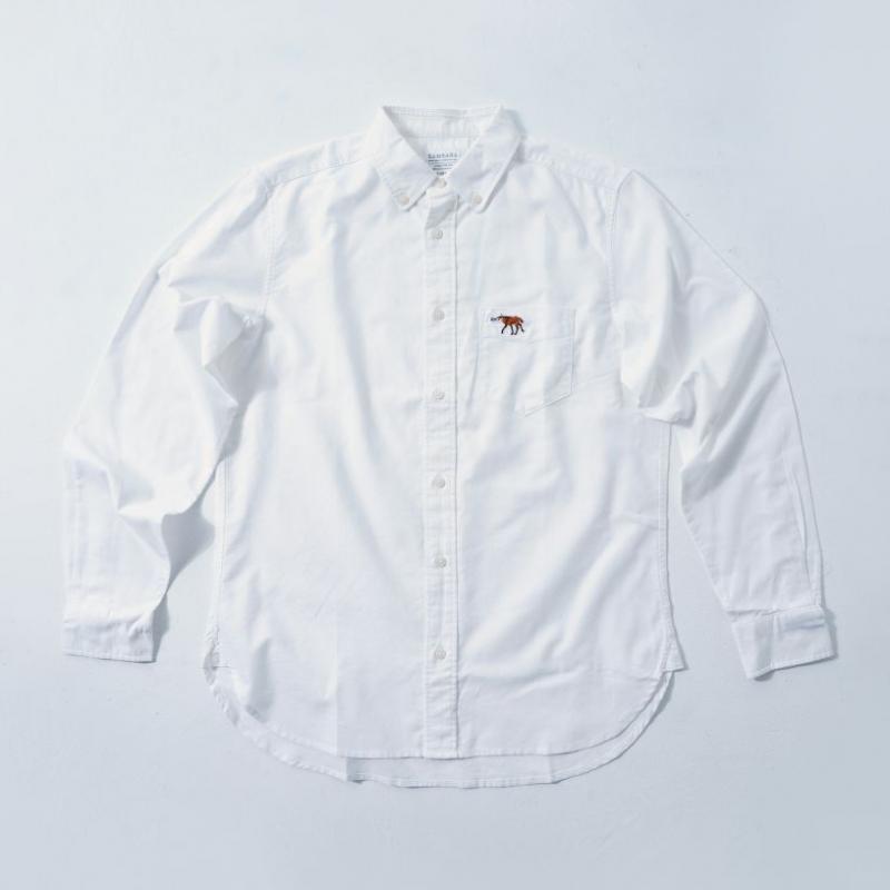 MENS Shirt White  (5Animals)