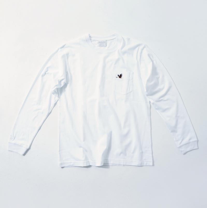 UNISEX Long Sleeve T White  (5Animals)