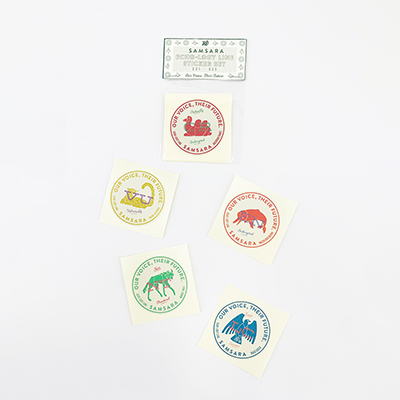ECHO-LOGY LINE Sticker Set