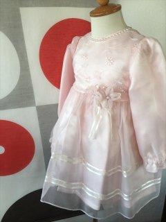 (G-95-4)ピンクのドレス95cm