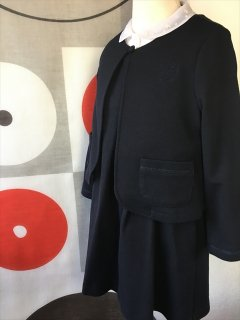 (G-110-9)ポンポネット清楚なスーツ110cm