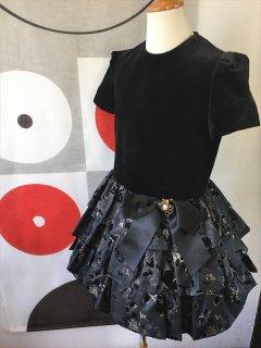 (G-115-1)ブラックドレス115cm