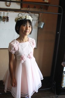 (G-120-28)むーのんのんのドレス120cm