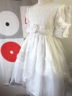 (G-120-3)お花のドレス120cm