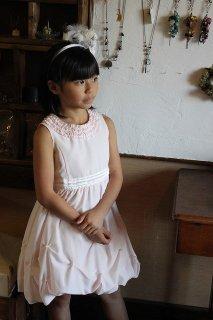 ◆送料お得プラン商品◆(G-120-57)組曲ピンクのドレス120cm