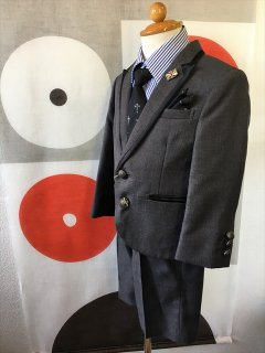 (B-95-6)MICHIKO LONDONスーツ(グレー)95cm