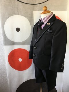 (B-95-7)MICHIKO LONDONスーツ(黒)95cm