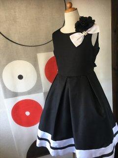 (G-150-46)モノトーンのドレス150cm