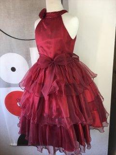 (G-120-116)シックなレッドドレス120cm