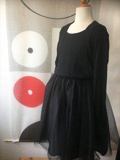 (G-140-55)コムサのドレス&ボレロ140cm
