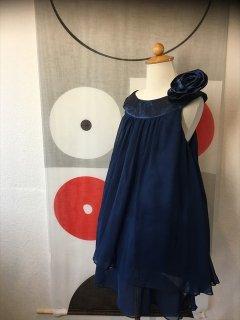 (G-100-28)ブルーのドレス100cm