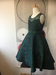 (G-150-48)深緑のドレス150cm