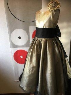 (G-150-50)ゴールドのドレス150cm