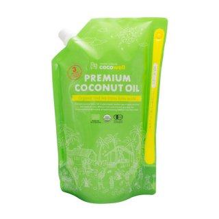 【COCOWELL】有機プレミアムココナッツオイル 1,840g(2L) <MCT 61%>