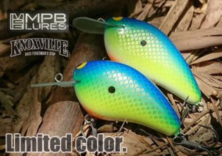 <img class='new_mark_img1' src='https://img.shop-pro.jp/img/new/icons26.gif' style='border:none;display:inline;margin:0px;padding:0px;width:auto;' />MPB LURES/KNOXVILLE LIMITED COLOR
