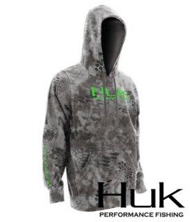 HUK/ FULL KRYPTEK PERFORMANCE HOODIE・Kryptek Riad