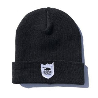 BASS BRIGADE /Shield Logo Knit Cap