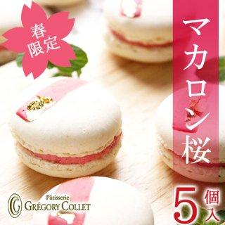 【春限定】マカロン桜SAKURA<5個入>
