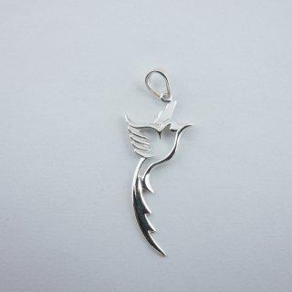 Silver Pendant|可愛い 鳥型 スターリングシルバー(SV925) ペンダントトップ