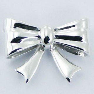 Silver Pendant|可愛い リボン型 スターリングシルバー SV925 ペンダントトップ