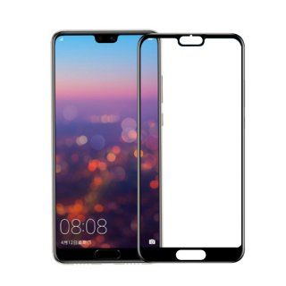 Huawei P20用 強化ガラスフィルム 全面保護0.33mm 黒(業務用 500枚入り)<img class='new_mark_img2' src='https://img.shop-pro.jp/img/new/icons43.gif' style='border:none;display:inline;margin:0px;padding:0px;width:auto;' />