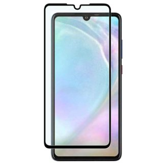 Huawei P30 lite用 強化ガラスフィルム 全面保護0.33mm 黒(業務用 500枚入り)<img class='new_mark_img2' src='https://img.shop-pro.jp/img/new/icons15.gif' style='border:none;display:inline;margin:0px;padding:0px;width:auto;' />