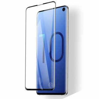 GALAXY S10用 強化ガラスフィルム 全面0.33mm 黒(業務用 500枚入り)<img class='new_mark_img2' src='//img.shop-pro.jp/img/new/icons15.gif' style='border:none;display:inline;margin:0px;padding:0px;width:auto;' />