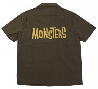 WEIRDO [-MONSTERS - S/S SHIRTS- WOOFIE size.S,M,L,XL]