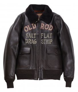 OLD CROW [-OLDROD G - JACKET- BROWN size.S,M,L,XL]