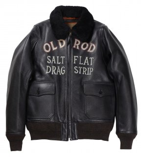 OLD CROW [-OLDROD G - JACKET- BLACK size.S,M,L,XL]