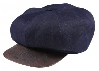 OLD CROW [-RACING GLUB - CASQUETTE- INDIGO×BROWN size.S,M,L]