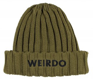 WEIRDO [-WEIRDO - SUMMER KNIT- KHAKI]