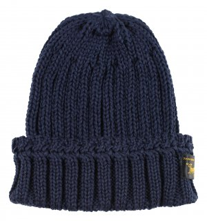 TROPHY CLOTHING [-Low Gauge Knit Cap- Navy]