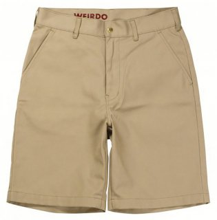 WEIRDO [-W & L UP - SHORTS- BEIGE size.30,32,34,36]