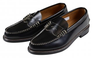 REGAL × GLAD HAND [-MEN'S COIN LOAFERS - SHOES- BLACK size.26,26.5,27,27.5,28]