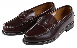 REGAL × GLAD HAND [-MEN'S COIN LOAFERS - SHOES- BROWN size.26,26.5,27,27.5,28]