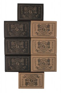 GLAD HAND & Co. [-GH - SAFETY MATCHES- GOODFIELD C]