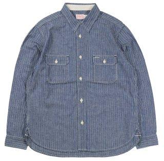 TROPHY CLOTHING [-Harvest Shirts- Stripe size.14,15,16,17]
