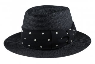 GANGSTERVILLE [-THE MIXTURE 7.19 - HAT- BLACK×BLACK  size.M,L]