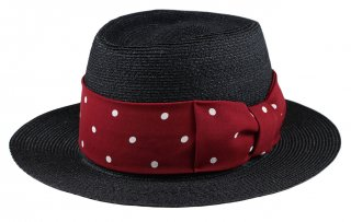 GANGSTERVILLE [-THE MIXTURE 7.19 - HAT- BLACK×RED  size.M,L]